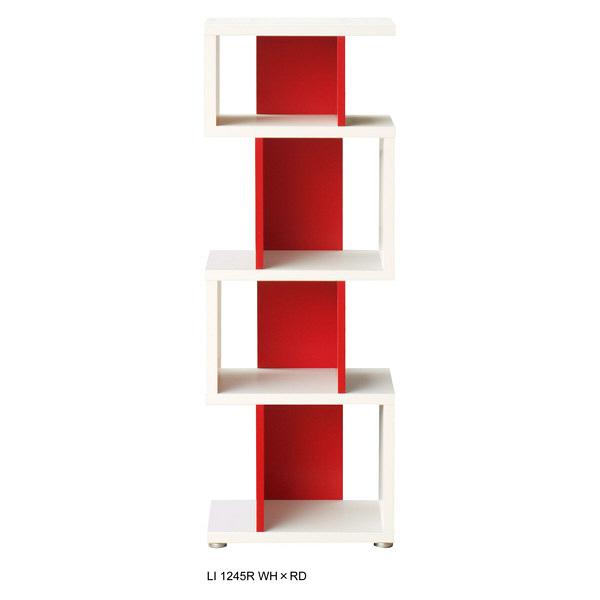 shelfit リエール LI 1260R ホワイト/レッド (取寄品)