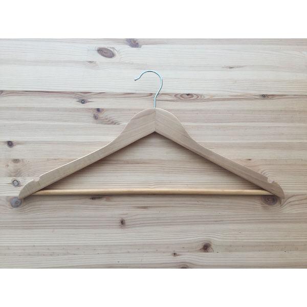 Woodドレスハンガー 1セット(5本入)
