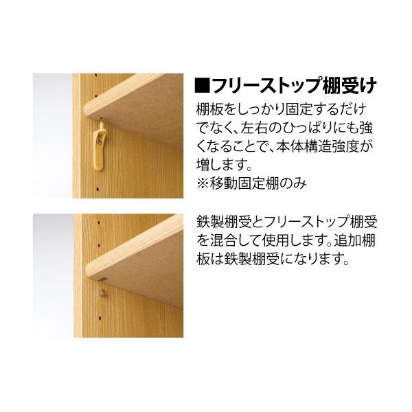 Shelfit エースラック/カラーラック 幅442×奥行310×高さ600mm ホワイト (取寄品)