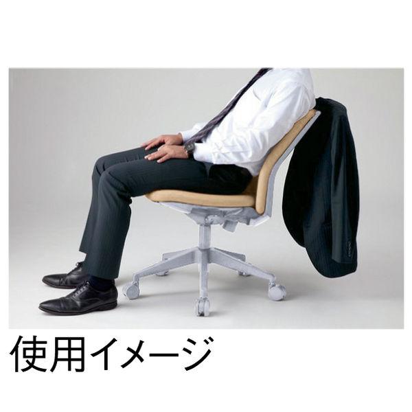アイリスチトセ ハンガー付オフィスチェア オフィスチェア 肘無し ベージュ CKR-G46M0-Be 1脚