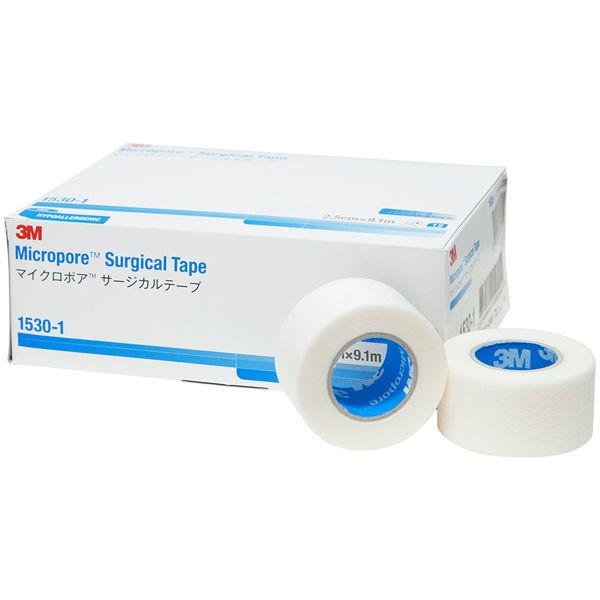 スリーエム ジャパン マイクロポアTMサージカルテープ 25mm 1530-1 1箱(12巻入)