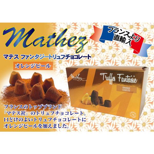 成城石井 マテス 〈マテス〉 ファンタジートリュフチョコレート オレンジピール 250g
