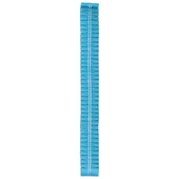 川西工業 不織布 使いきりヘアキャップ ブルー 1セット(3000枚:500枚入×6袋)