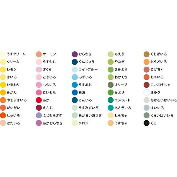 ハピラ 色画用紙 50色アソート B4 IG50B4 1冊(50色×各1枚)