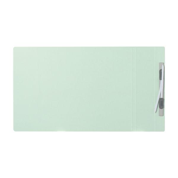 プラス フラットファイル厚とじ500 A4ヨコ ブルー 87995 1セット(30冊)