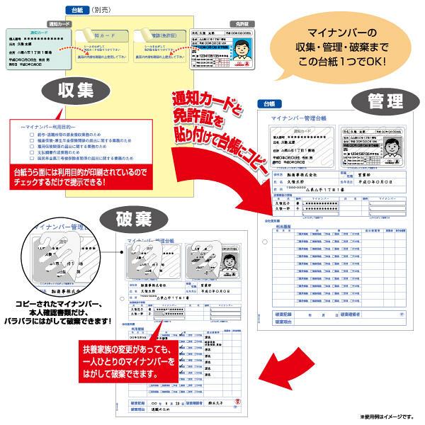 ヒサゴ マイナンバー管理台帳追加用 A4サイズ MNOP004R 1袋(20シート入) (取寄品)
