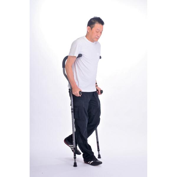 プロト・ワン折りたたみ松葉杖 ミレニアル・プロ レギュラーサイズ 2本組 17-1-3 レッド (取寄品)
