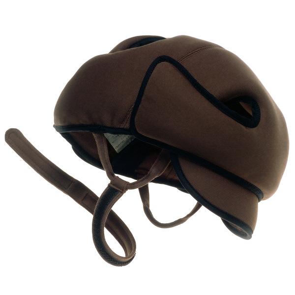 特殊衣料アボネット ガードDタイプ(側頭部衝撃吸収重視型) メッシュタイプ 2033 ブラウン (取寄品)