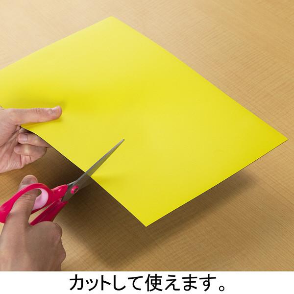 エコ・マグネットシート 300×200mm 黄 MS-430-Y ソニック