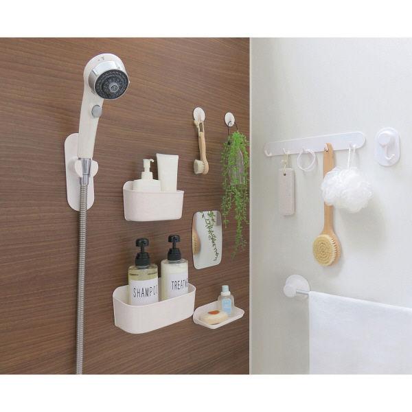 浴室壁面収納 マグネット バスフックミニ