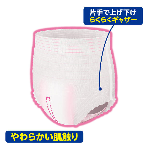 アテント うす型パンツ L~LL 女性用