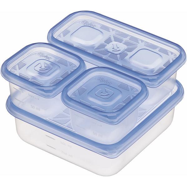 ジップロックコンテナー アソート4種