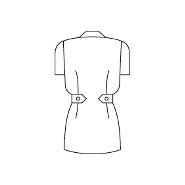 住商モンブラン レディスジャケット(ナースジャケット) 半袖 ピンク M A73-1444