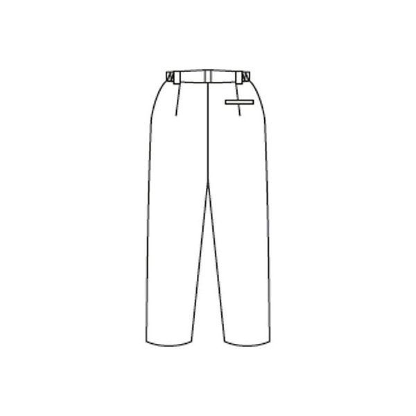 住商モンブラン メンズパンツ 医療白衣 白 3L A72-1141
