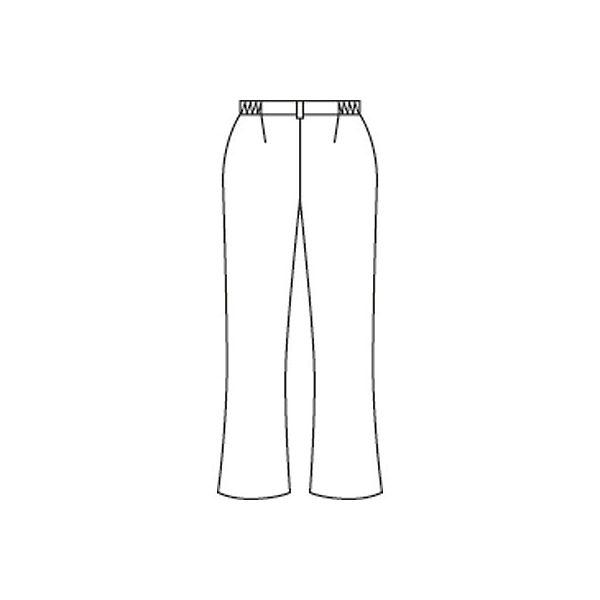 住商モンブラン レディスパンツ(ナースパンツ) ホワイト M A73-1091