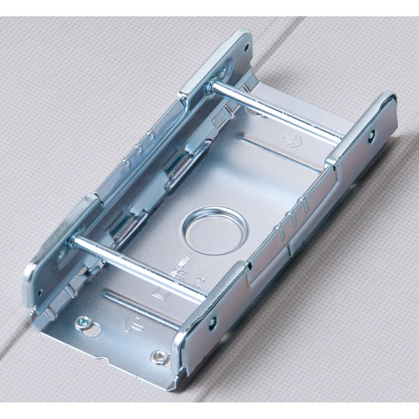 アスクル パイプ式ファイル(両開き) A4タテ とじ厚50mm ユーロスタイル ホワイト