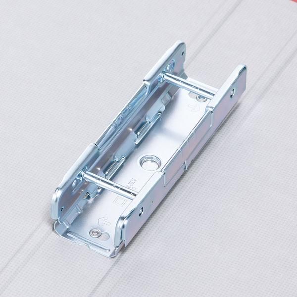 パイプ式ファイルA4 とじ厚30mm 赤