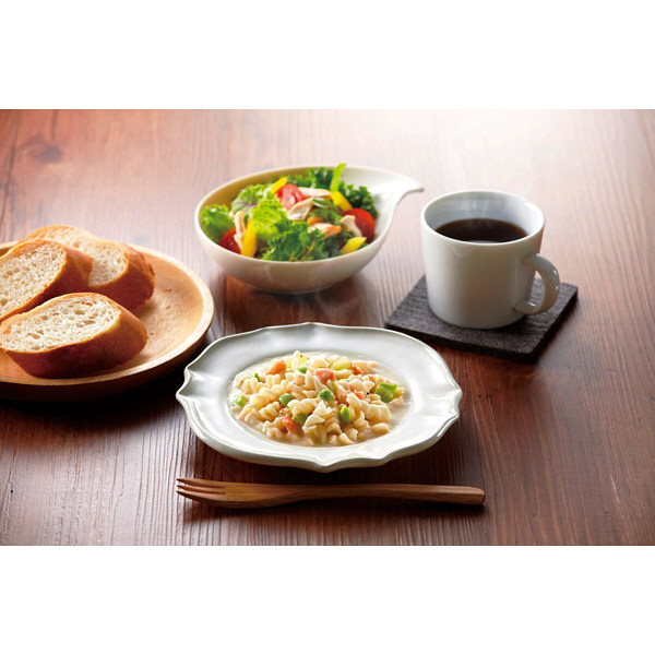 枝豆とサーモンのクリームパスタ2食