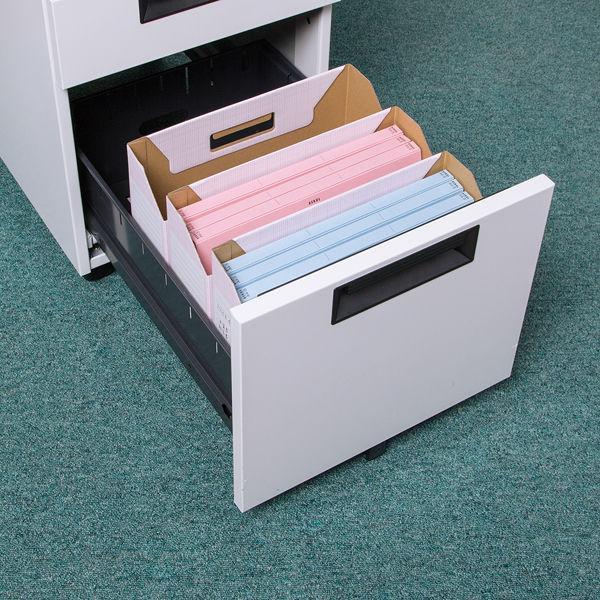 ボックスファイル A4横 ピンク 10個
