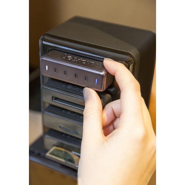 Portable SSD 256GB 黒 LRWSSD256TBJP レキサー