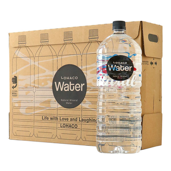 別】LOHACO Water 2.0L 1箱(5本入)