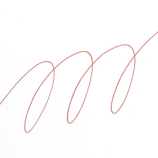 uniポスカ 極細 赤