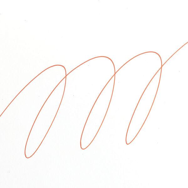 uniポスカ 極細 橙