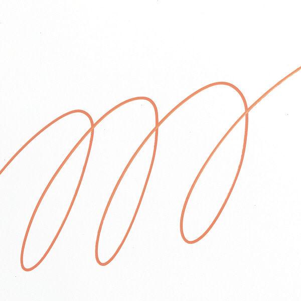 uniポスカ 細字 橙