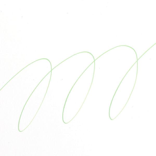 uniポスカ 極細 黄緑