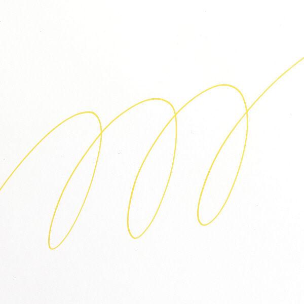 uniポスカ 極細 黄