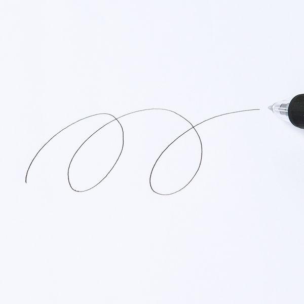 アスクルなめらかボールペン0.5mm 黒