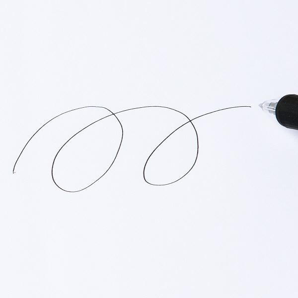 アスクルなめらかボールペン0.7mm 黒