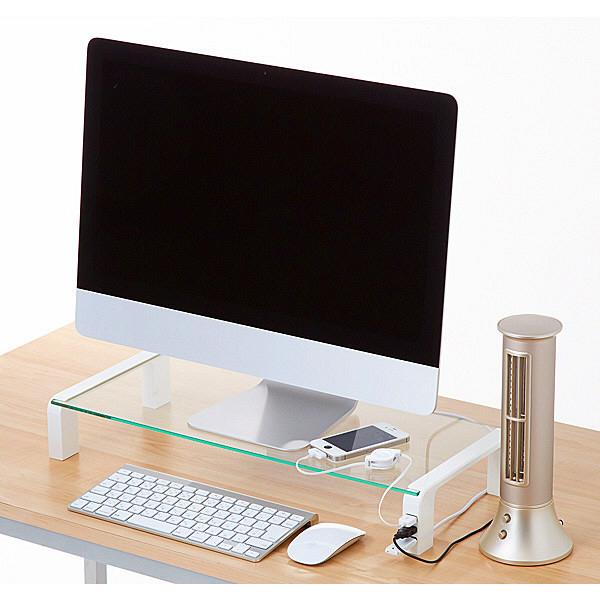 キングジム USBポート付デスクボード