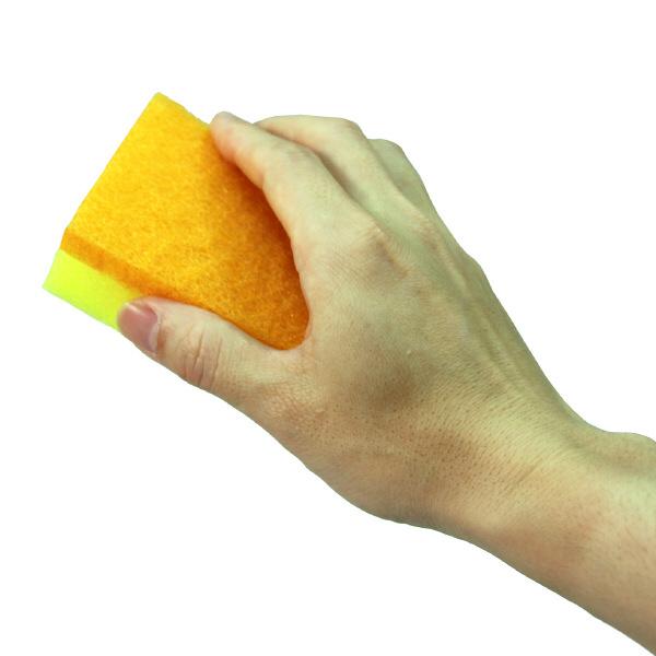 スコッチブライト 抗菌カラーたわし ソフトタイプ 1パック (15個入り:5個入×3パック) キッチンスポンジたわし スリーエム (3M)