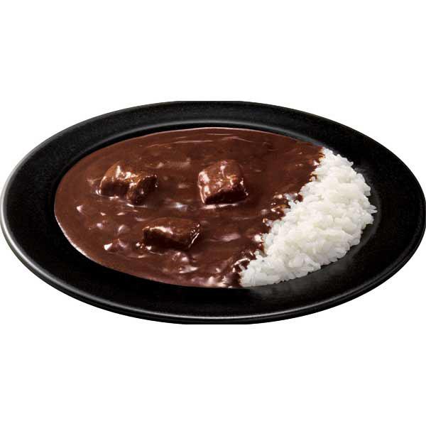 グリコLEEブラックカレー辛さ5倍2食