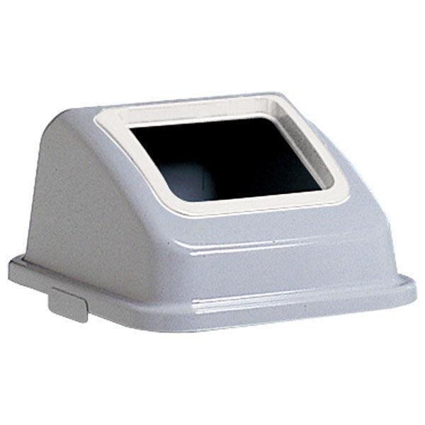 テラモト エコ分別カラーペール45 白 プラスチック DS-900-300-8 (直送品)