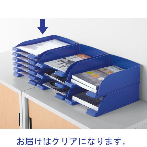 エセルテジャパン ライツ レタートレー スリム クリア A4 5237-10-03 1箱(6個入)