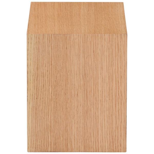 壁に付けられる家具・箱・1マス・オーク材