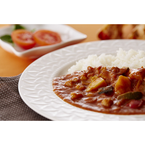 にしきや 野菜とひよこ豆のとまとカレー