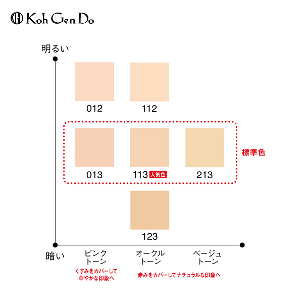 江原道 シルキーモイストコンパクト012