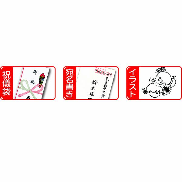 ぺんてる 水性サインペン 筆文字 細字 黒 XSES15NFA 7本 (直送品)