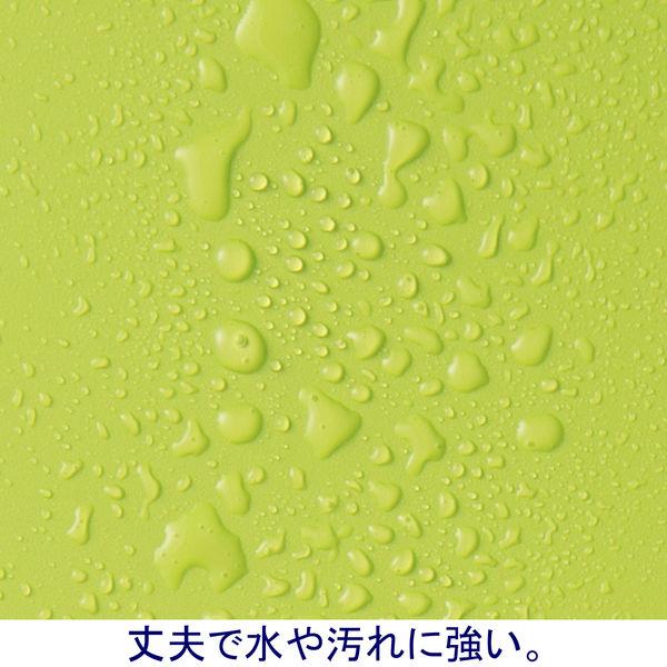 ボックスファイル組み立て式 A4タテ 10冊 PP製 グリーン セリオ