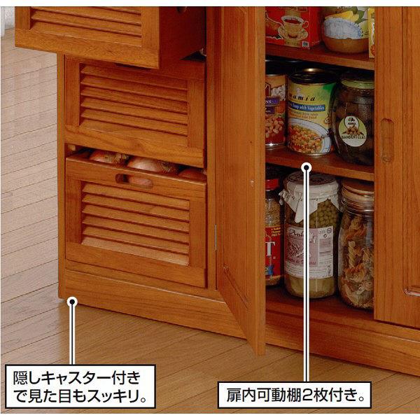 木製キッチンワゴン 幅820mm