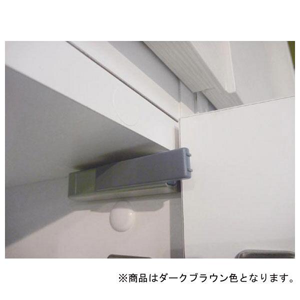 白井産業 壁面収納キャビネット Bタイプ 幅600mm ブラウン (直送品)