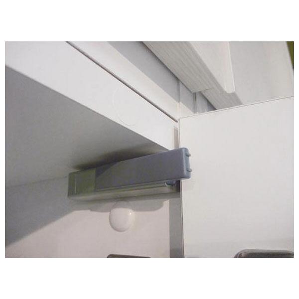 白井産業 壁面収納キャビネット Bタイプ 幅600mm ホワイト (直送品)