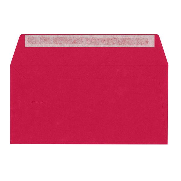 ポレン封筒 A4三つ折 レッド テープ付 20枚 クレールフォンテーヌ