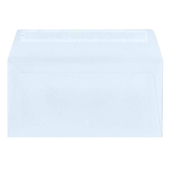 封筒 A4三つ折 ブルー 20枚