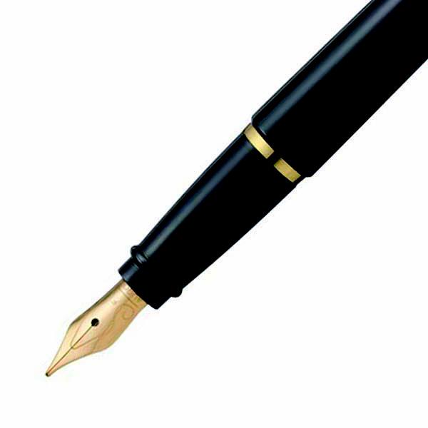 イプシロン 万年筆 ブラック(取寄品)