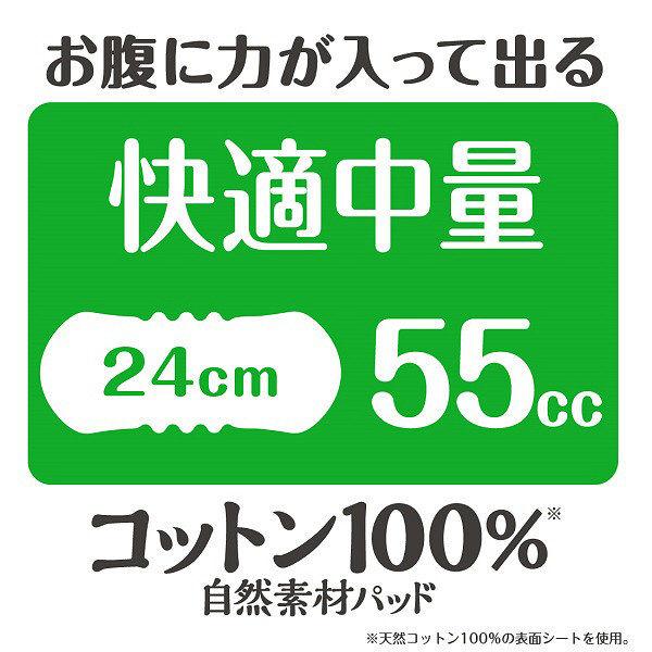 コットン100%パッド快適中量24枚×3