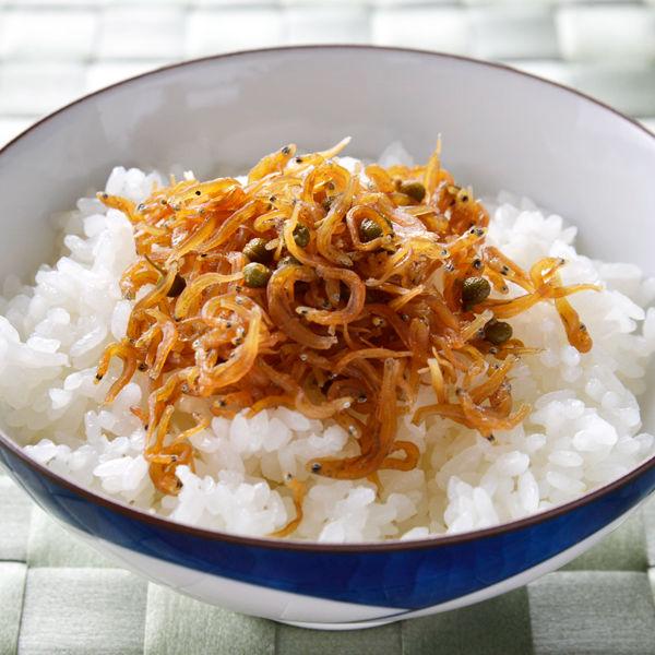 小豆島で炊いた山椒ちりめん2個